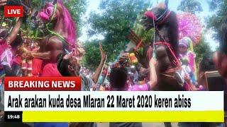 Arak arakan desa Mlaran terbaru || atraksi kuda || abal abal