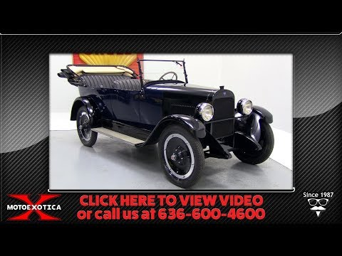 Video of 1922 25 Touring Sedan located in St. Louis Missouri - $23,500.00 Offered by MotoeXotica Classic Cars - P1XK