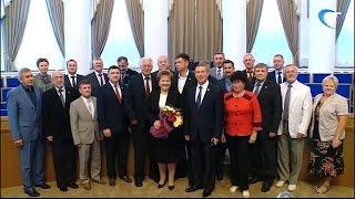 Председатель Новгородской областной Думы Елена Писарева отмечает юбилей