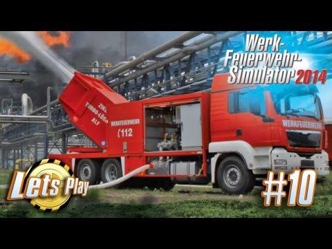 Let`s Play Werk Feuerwehr Simulator 2014 #10 Die Rowdys sind zurück