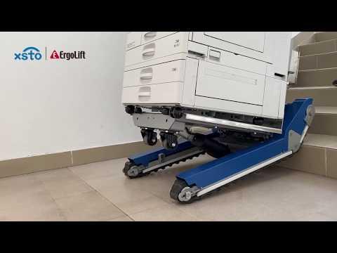 BW400 el-trappeklatre med platformslift 400 kg.