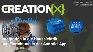 Shelly 1 - Einbau in die bestehende Hauselektrik / Rauminstallation