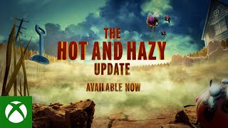 Xbox Grounded - Hot and Hazy Update anuncio