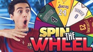 SPIN THE WHEEL OF NBA PLAYER NUMBERS! NBA 2K17 SQUAD BUILDER
