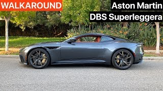 Aston Martin DBS Superleggera WALKAROUND + SOUND