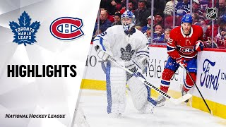 NHL Highlights   Maple Leafs @ Canadiens 02/08/20
