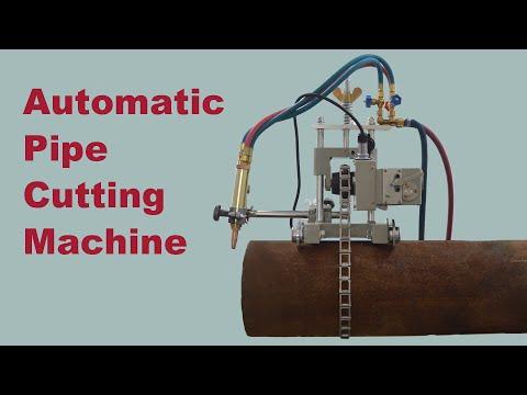 Auto Pipe Gas Cutting Machine