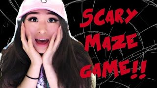 Scary Maze Game Reaction!