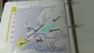 Europe Map Song 2.0