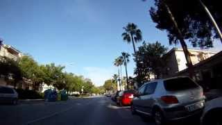 preview picture of video 'Paguera to Camp de Mar road route'