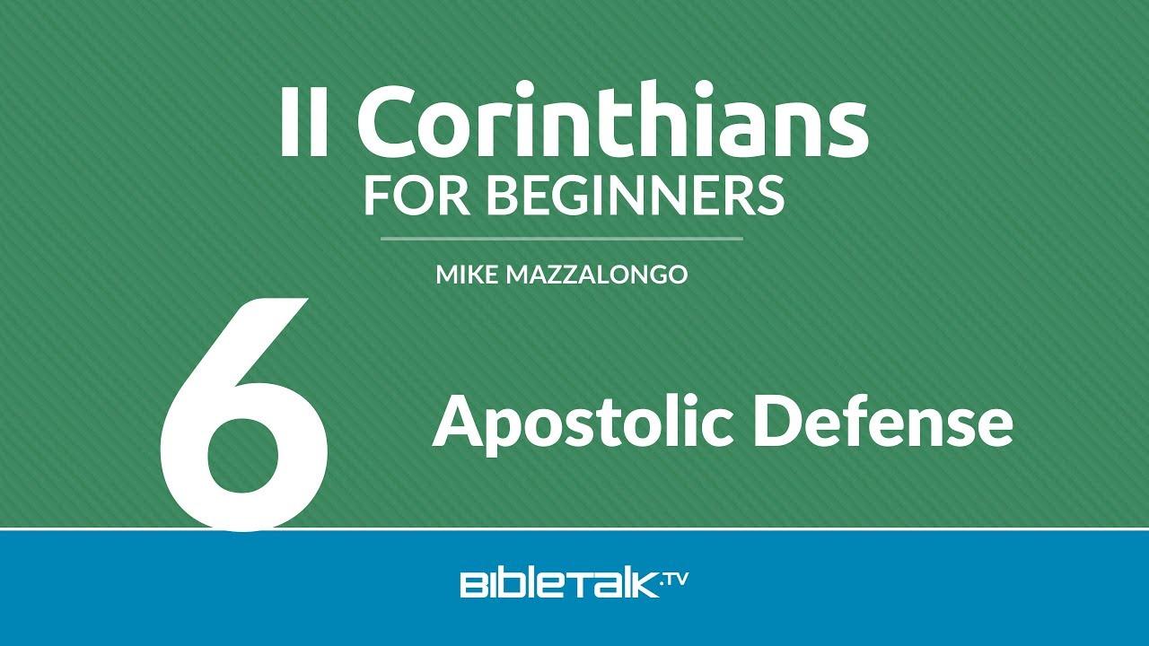 6. Apostolic Defense
