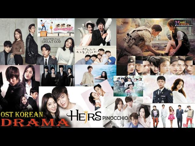 OST Korean Drama The Best 2017 - Sountrack Korean Popular Drama Sad Make you cry