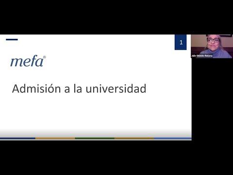 College Admissions (SPANISH)