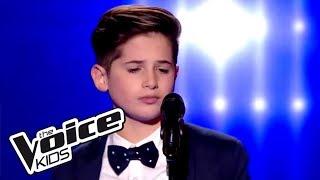 Emmène-moi - Boulevard des airs   Thibault   The Voice Kids France 2017   Blind Audition