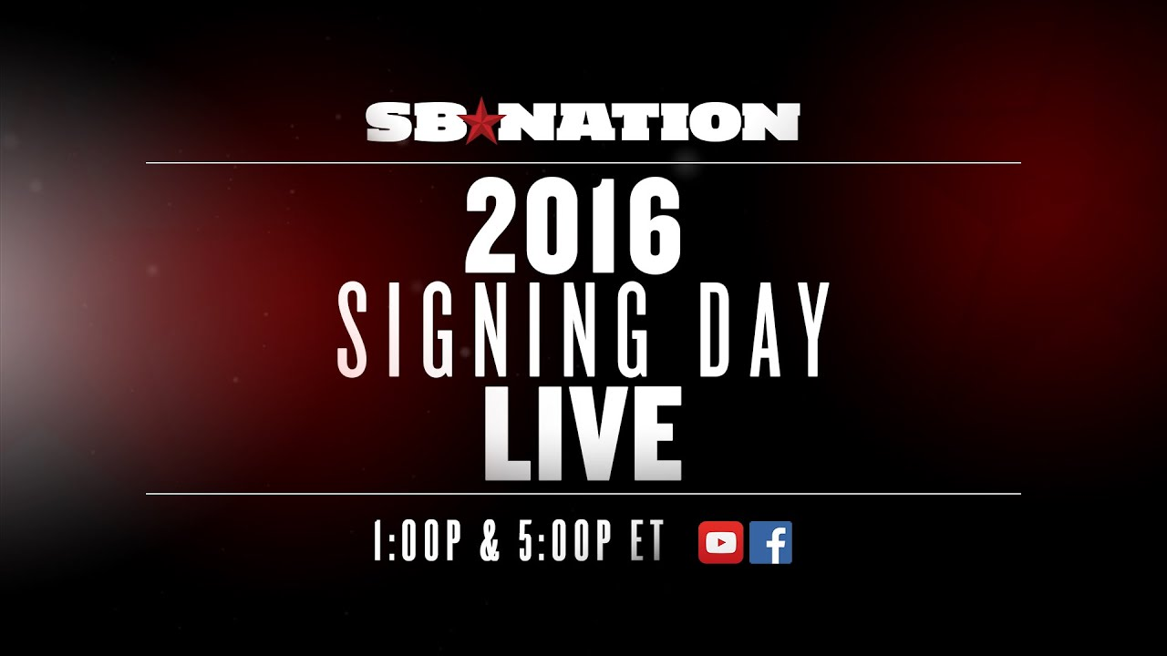 2016 National Signing Day (Part 2) thumbnail