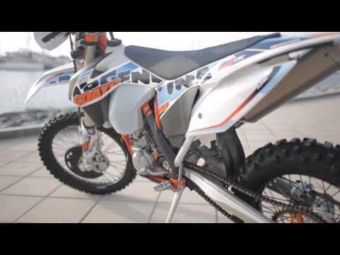 KTM 2015 500 EXC 6 Days Video