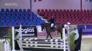 Vechta Hallenchampionat 2015 Prüfung 14/2 Sieger