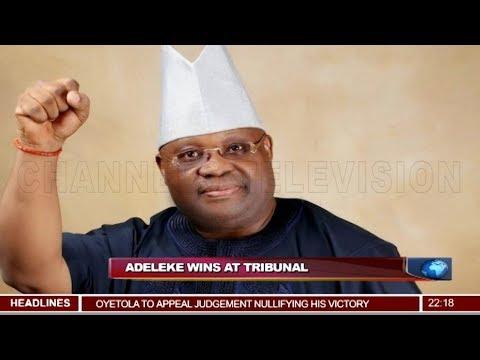 Tribunal Declares Ademola Adeleke As Winner 22/03/19 Pt.1 |News@10|