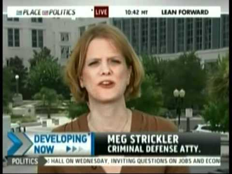 Meg Strickler on MSNBC discussing Casey Anthony closing arguments on July 3, 2011
