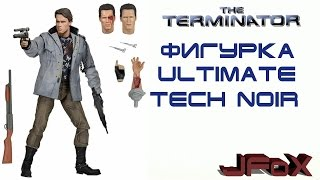 BIG Обзор Фигурки T-800. Ultimate Tech Noir!