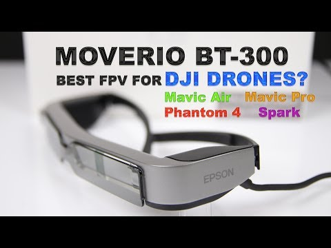 Moverio BT-300FPV Smart Glasses Review