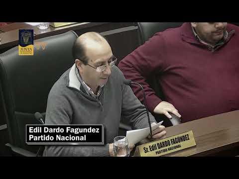 Edil Dardo Fagundez   Asuntos Previos 22 de marzo de 2019