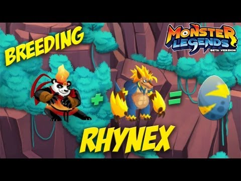 Monster Legends - How To Get Rhynex + Combat - Free video search
