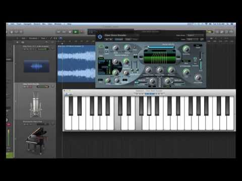 How To Use Apple LOGIC Pro X Vocoder