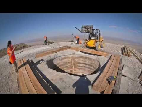 10,000 Year Clock: Raise Bore mining (02011)