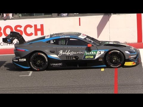 Aston Martin Vantage DTM 2019 in Action at Misano World Circuit