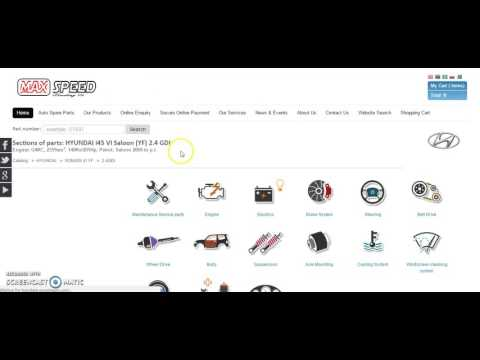 Hyundai Automotive Spare Parts - Buy and Check Prices Online