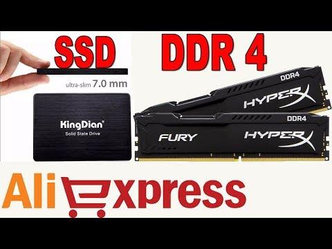 ОЗУ Kingston HyperX Fury DDR4 и SSD ДИСК с АЛИЭКСПРЕСС / БЮДЖЕТНЫЙ АПГРЕЙД КОМПА 💻