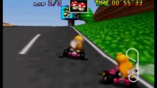 Mario Kart 64 - LR 3lap in 1'40''25