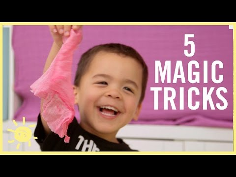PLAY | 5 Magic Tricks Kids Can DO!