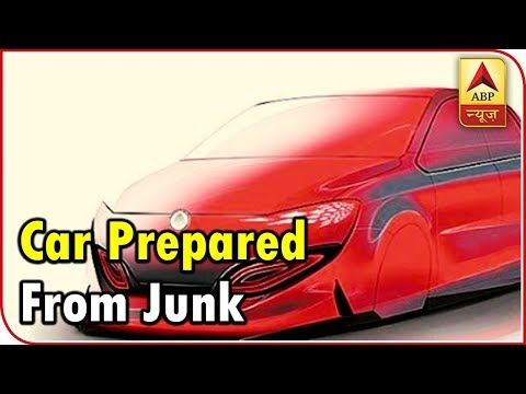 Here Is A Car Prepared From Junk And Will Be Used As A Private Room | ABP News