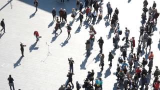 """Flashmob """"Ode An Die Freude"""" (HalleSaale)"""