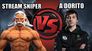 Dota 2: Arteezy - Stream Sniper VS A Dorito | Offlane Ursa