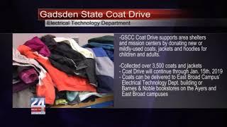 Gadsden State Annual Coat Drive