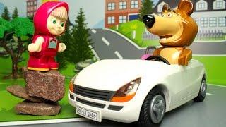 Маша и Медведь - В городе! Мультики для детей про Машу и Медведя и МАШИНКИ. Новые мультфильмы.