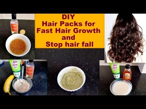 DIY Hair Mask For Frizzy Dry And Damage Hair And Hair Growth | Silky-Shiny-Strong Hair At Home
