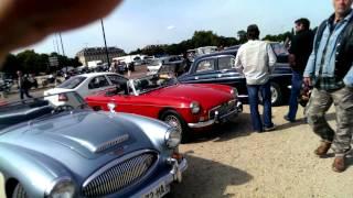 preview picture of video 'Vincennes en anciennes : septembre 2013 2/2 - Voitures automobiles rétro'
