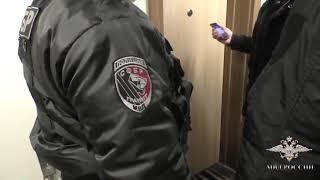 Задержание мошенников в автосалоне Москвы