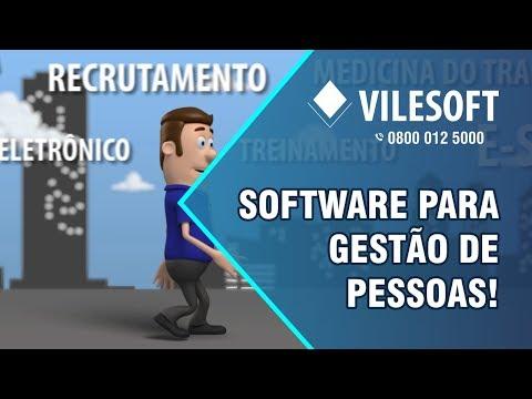 Imagem Gestão de Pessoas - Vilesoft ERP / RH