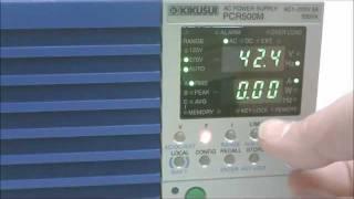 Kikusui AC Power Supply / Frequency Converter Kikusui PCR500M