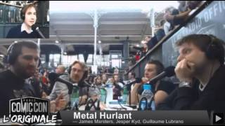 Comic Con Paris 2015 | Metal Hurlant Post Panel
