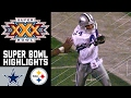 Cowboys vs. Steelers Super Bowl XXX Recap | NFL