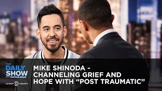 """Mike Shinoda - Channeling Grief and Hope with """"Post Traumatic""""   The Daily Show"""