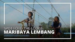 8 Spot Foto Instagramable di The Lodge Maribaya Lembang, Coba Zip Bike yang Menantang