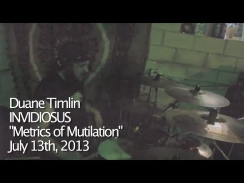 "Duane Timlin - ""Metrics of Mutilation"" - Invidiosus"