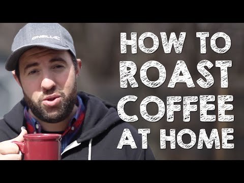 How to Roast Coffee Beans At Home (Stove Top Method)